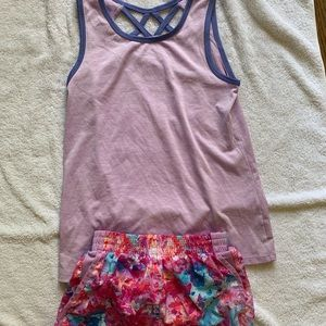 Girls Athletic outfit
